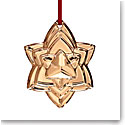 Baccarat Crystal Annual Ornament 2018, Gold