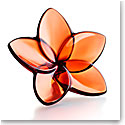 Baccarat Bloom Mahogany Flower Sculpture