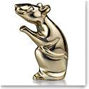Baccarat Zodiac Mouse, Gold