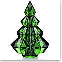 Baccarat Crystal 2019 Aspen Fir Tree, Green