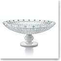 "Baccarat New Antique 15"" Marble Footed Bowl"