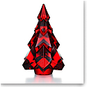 Baccarat Gstaad Fir Christmas Tree, Red