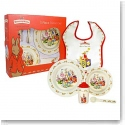 Royal Doulton Bunnykins Baby Melamine 5-Piece Set, Bowl, Cup, Plate, Spoon and Bib