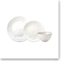 Michael Aram China White Orchid Stoneware 3pc Set