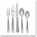 Michael Aram Hammertone 5pc Flatware Set