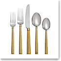 Michael Aram Wheat 5pc Flatware Set - Gold