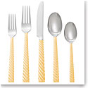 Michael Aram Twist Gold 5-Piece Flatware Set
