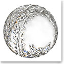 Waterford Crystal, Blank Panel Baseball Paperweight