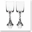 Michael Aram Rock Water Glass, Pair