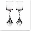 Michael Aram, Rock Crystal Wine Glass, Pair
