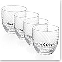 Michael Aram Twist Diamond Double Old Fashion Set of Four