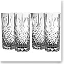 Galway Crystal Renmore Hiball Glass Set of 4