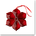 Villeroy and Boch 2020 Crystal Gems Poinsettia Ornament