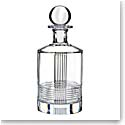 Rogaska Crystal, Fan Club Round Crystal Decanter