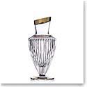 "Rogaska Crystal, Amphora Crystal Vase 12.5"" Gold"