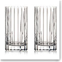 Rogaska Crystal, Avenue Crystal Hiball, Pair
