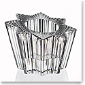"Rogaska Crystal, Clear Star Crystal 4"" Votive"