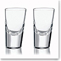 Rogaska 90 Degrees Shot Glass, Pair