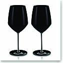 Rogaska Expert Y Black Chardonnay, Pair
