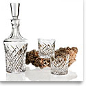 Waterford Crystal, House of Waterford Wild Atlantic Way Whiskey Decanter and 2 Rock Glasses, Set
