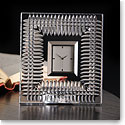 Waterford Crystal, Lismore Diamond Desk Crystal Clock