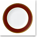 Wedgwood China Renaissance Red Rim Soup Plate, Single