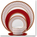 Wedgwood China Renaissance Red, 5 Piece Place Setting