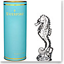 Waterford Crystal, Giftology Seahorse Crystal Paperweight