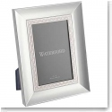 "Waterford Crystal, Lismore Lace Silver 4x6"" Picture Frame"