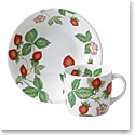 Wedgwood China Wild Strawberry Nurseryware Small Mug and Bowl 2-Piece Set
