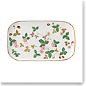 Wedgwood Wild Strawberry Sandwich Tray 11.8""