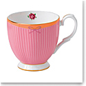 Royal Albert Candy Vintage Mug 10.5 Oz Sweet Stripe