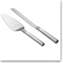Waterford Crystal, Lismore Diamond Metal Cake Knife and Server Set