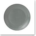 "Royal Doulton Gordon Ramsay Maze Dark Grey Salad Plate 8.8"""