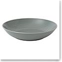 Royal Doulton Gordon Ramsay Maze Dark Grey Open Vegetable Bowl/Pasta Bowl 24 Oz