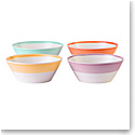 Royal Doulton 1815 Mixed Patterns Cereal Bowl Set of 4 Bright Colors