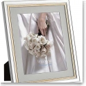 "Vera Wang Wedgwood Chime Gold 8x10"" Picture Frame"
