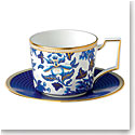 Wedgwood China Dinnerware Hibiscus Teacup and Saucer