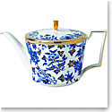 Wedgwood China Hibiscus Teapot