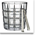 Marquis by Waterford Crystal, Crosby Ice Bucket with Tongs