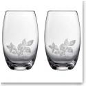 Wedgwood Wild Strawberry Al Fresco Glass Pimms Glass, Pair