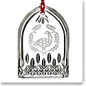 Waterford Crystal, Lismore 12 Days of Christmas Lismore Six Geese Crystal Ornament