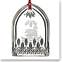 Waterford Crystal, 2017 12 Days of Christmas Lismore Seven Swans Crystal Ornament