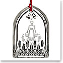 Waterford Crystal, 12 Days of Christmas Lismore Eight Maids Crystal Ornament