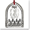 Waterford Crystal, 12 Days of Christmas Lismore Eleven Pipers Ornament
