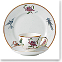 Wedgwood Mythical Creatures 3 Piece Set, Teacup, Saucer and Plate 8""