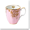 Royal Albert 100 Years 1960 Mug 14.1 Oz Golden Rose