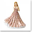 Royal Doulton China Pretty Ladies, Sentiment Petites Remember Me