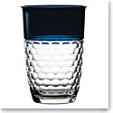 "Waterford Crystal, Jo Sampson Half and Half 9"" Crystal Vase, Teal"