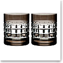 Waterford Crystal, London Smoke Crystal DOF Tumblers, Pair
